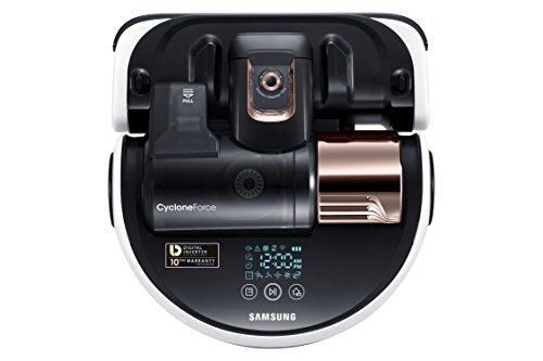 Samsung POWERbot R9250 Robot Vacuum Large Dust Bin, Ideal for Carpets & Hard Floors, Works with Amazon Alexa and the Google Assistant